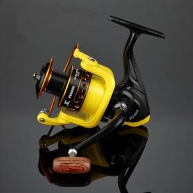 LIEYUWANG Reel Pancing HD7000 12 Ball Bearing - Black/Yellow - 3