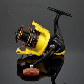 LIEYUWANG Reel Pancing HD6000 12 Ball Bearing - Black/Yellow - 3