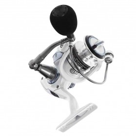 LIEYUWANG HC4000 Reel Pancing 13 Ball Bearing Gear - White