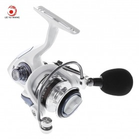 LIEYUWANG HC2000 Reel Pancing 13 Ball Bearing Gear - White - 1