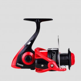 LIEYUWANG FD5000 Reel Pancing 12+1 Ball Bearing Gear Ratio 4.7:1 - Red/Black