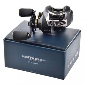 KastKing Stealth Super Light Carbon Body Reel Pancing 11+1 Ball Bearing - Tangan Kanan - Black - 9