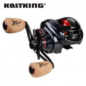 KastKing Spartacus Reel Pancing 11+1 Ball Bearing - Tangan Kiri - Black
