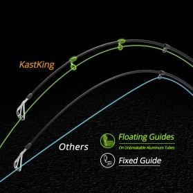 KastKing BlackHawk II Joran Pancing Carbon Fiber Spinning Rod 2.23M - Black - 9