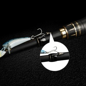 KastKing BlackHawk II Joran Pancing Carbon Fiber Spinning Rod 1.98M - KKR-BK2-TS66ML - Black - 10