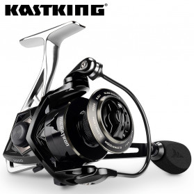 KastKing Megatron Large Spool Reel Pancing 7+1 21KG Max 2000 - Black