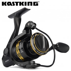 KastKing Lancelot 3000 Series Reel Pancing  8KG Max Drag Fishing Reel 5.0:1 Gear Ratio - Black