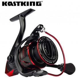 KastKing Sharky III Reel Pancing 10+1 Ball Bearing 18KG 3000 Series - Black