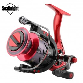 Seaknight PUCK2000 Spinning Reel Pancing 5.2:1 10 Ball Bearing - Red - 1