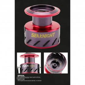 Seaknight PUCK3000 Spinning Reel Pancing 5.2:1 10 Ball Bearing - R1009 - Red - 9