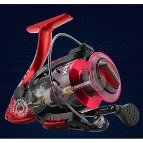 Seaknight PUCK4000 Spinning Reel Pancing 5.2:1 10 Ball Bearing - Red - 6