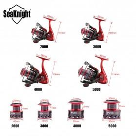 Seaknight PUCK5000 Spinning Reel Pancing 5.2:1 10 Ball Bearing - Red - 2