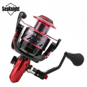 Seaknight PUCK5000 Spinning Reel Pancing 5.2:1 10 Ball Bearing - Red - 4