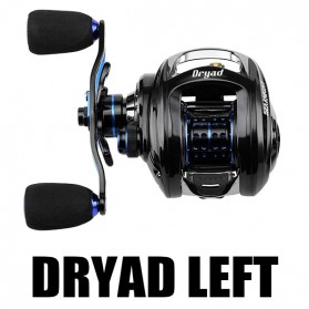 Seaknight DRYAD Baitcasting Reel Pancing 7.6:1 12 Ball Bearing - Left - Black