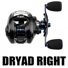 Seaknight DRYAD Baitcasting Reel Pancing 7.6:1 12 Ball Bearing - Right - Black