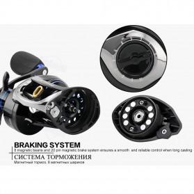 Seaknight DRYAD Baitcasting Reel Pancing 7.6:1 12 Ball Bearing - Right - Black - 9