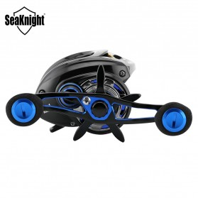 Seaknight DRYAD Plus Baitcasting Reel Pancing 7.0:1 12 Ball Bearing - Left - Black - 6