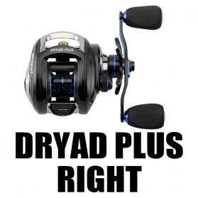Seaknight DRYAD Plus Baitcasting Reel Pancing 7.0:1 12 Ball Bearing - Right - Black