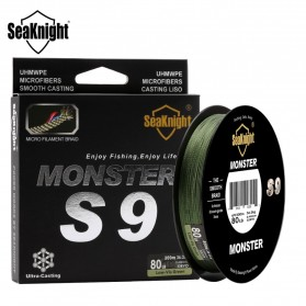Seaknight Monster S9 Senar Tali Pancing 9 Strands 0.32mm 300 Meter - Line 4.0 - Green