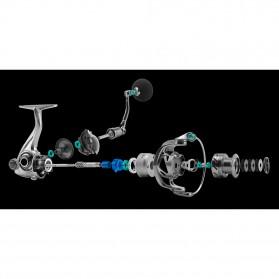 Seaknight Rapid 4000H Spinning Reel Pancing 6.2:1 11 Ball Bearing - R0817 - Silver - 4