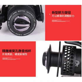 Beast King Reel Pancing BKK5000 13+1 Ball Bearing - Black - 5