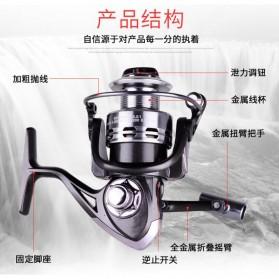 Debao Reel Pancing FK3000 13+1 Ball Bearing - Black - 10