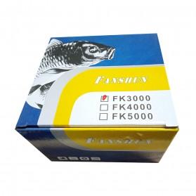 Debao Fanshun Reel Pancing FK3000 13+1 Ball Bearing - Black - 11