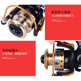 Debao DE150 Spinning Reel Pancing 5.2:1 10 Ball Bearing - Black - 4