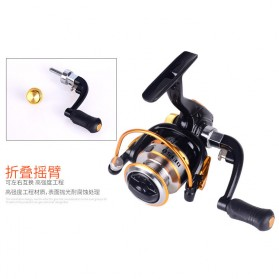 Debao DE150 Spinning Reel Pancing 5.2:1 10 Ball Bearing - Black - 7