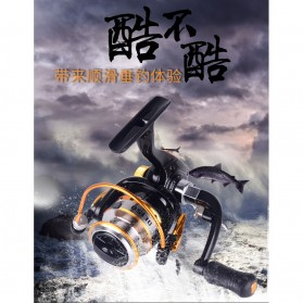 Debao DE150 Spinning Reel Pancing 5.2:1 10 Ball Bearing - Black - 10