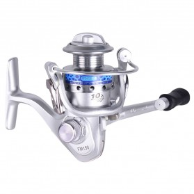 FANSHUN Spinning Reel Pancing 5.2:1 10 Ball Bearing - FM150 - Silver - 2