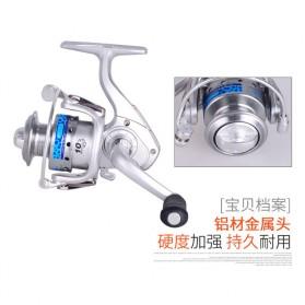 FANSHUN Spinning Reel Pancing 5.2:1 10 Ball Bearing - FM150 - Silver - 4