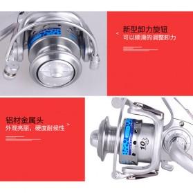 FANSHUN Spinning Reel Pancing 5.2:1 10 Ball Bearing - FM150 - Silver - 7