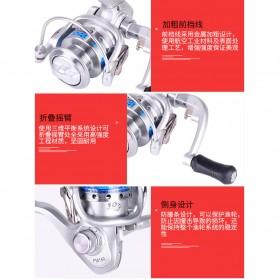 FANSHUN Spinning Reel Pancing 5.2:1 10 Ball Bearing - FM150 - Silver - 8