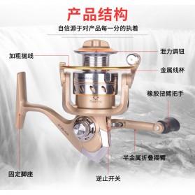 STACO GW3000 Spinning Reel Pancing 5.2:1 - Golden - 9