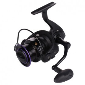 Debao Black Swan BS4000 Spinning Reel Pancing 5.2:1 12+1 Ball Bearing - Black