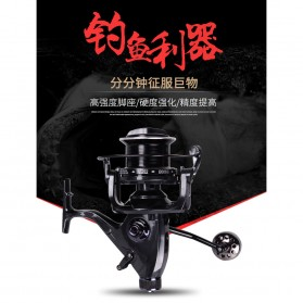 Debao THOR4000 Spinning Reel Pancing 5.2:1 12+1 Ball Bearing - Black - 3