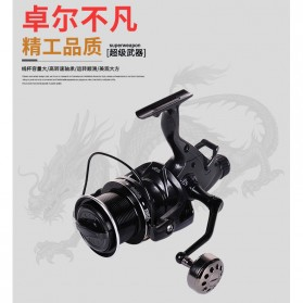 Debao THOR4000 Spinning Reel Pancing 5.2:1 12+1 Ball Bearing - Black - 4