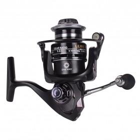 Debaone Fishman LURE 2000 Spinning Reel Pancing 5.2:1 12+1 Ball Bearing - Black - 4