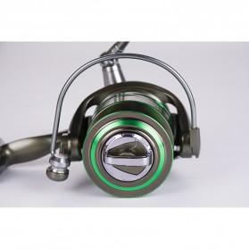 Debaone GA3000 Spinning Reel Pancing 5.2:1 12+1 Ball Bearing - Green - 5