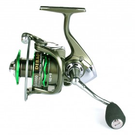 Debaone GA5000 Spinning Reel Pancing 5.2:1 12+1 Ball Bearing - Green - 2
