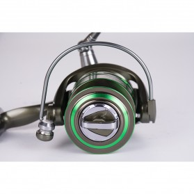 Debaone GA5000 Spinning Reel Pancing 5.2:1 12+1 Ball Bearing - Green - 5