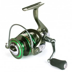Debaone GA6000 Spinning Reel Pancing 4.9:1 12+1 Ball Bearing - Green