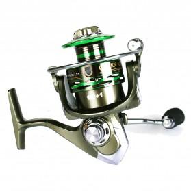 Debaone GA6000 Spinning Reel Pancing 4.9:1 12+1 Ball Bearing - Green - 3