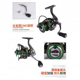 Debaone GA6000 Spinning Reel Pancing 4.9:1 12+1 Ball Bearing - Green - 9