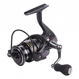 Debao Fishman LURE 4000 Spinning Reel Pancing 5.2:1 12+1 Ball Bearing - Black