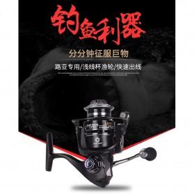 Debao Fishman LURE 4000 Spinning Reel Pancing 5.2:1 12+1 Ball Bearing - Black - 5