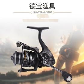 Debao Fishman LURE 4000 Spinning Reel Pancing 5.2:1 12+1 Ball Bearing - Black - 6