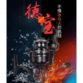 Debao Fishman LURE 4000 Spinning Reel Pancing 5.2:1 12+1 Ball Bearing - Black - 8