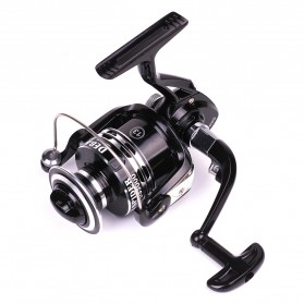 Debaone Dark Spider DS4000 Spinning Reel Pancing 5.2:1 12+1 Ball Bearing - Black